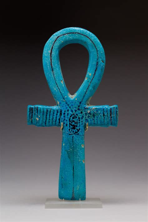 Ceremonial Implement in the Shape of an Ankh   New Kingdom