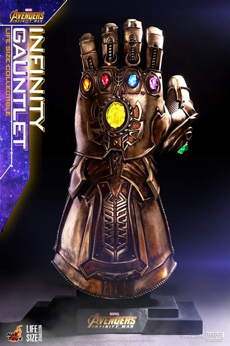 Hot Toys unveils its life-size Infinity Gauntlet from