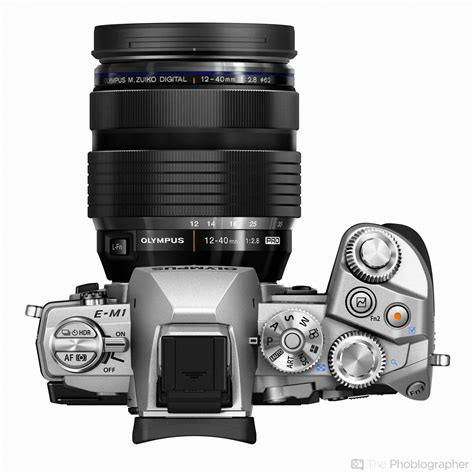 The Olympus OMD EM1 Comes in Silver Now; Can Tether