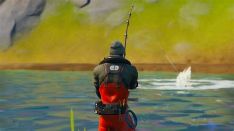 """Fortnite Chapter 2 """"Alter Ego"""" Challenge: Catch a fish"""