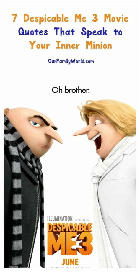 7 Despicable Me 3 Movie Quotes That Speak to Your Inner