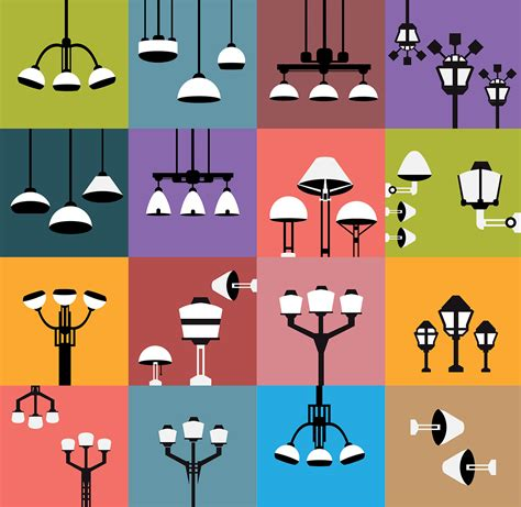Lamp icons on Behance