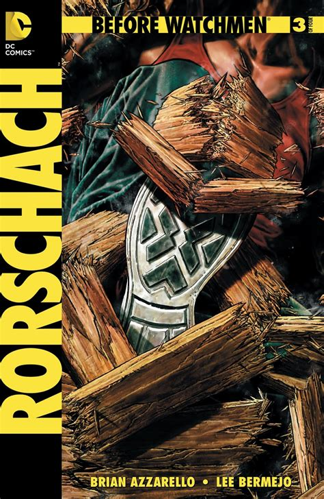 Before Watchmen Covers: Rorschach