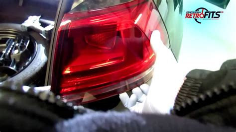 VW Golf Mk7 How to remove tail lights - YouTube