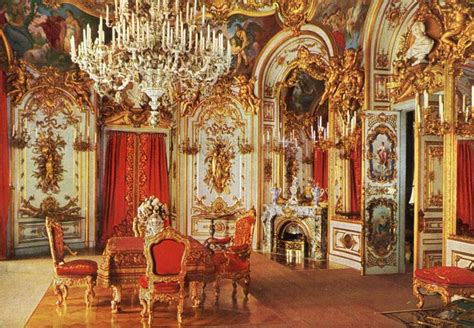 Dining room, king's castle, Herrenchiemsee